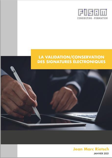 Pineappli - Validation / Conservation des signatures électroniques